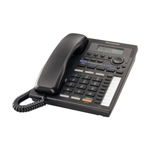 Panasonic 2-Line KX-TS3282B Corded Phone (Black)