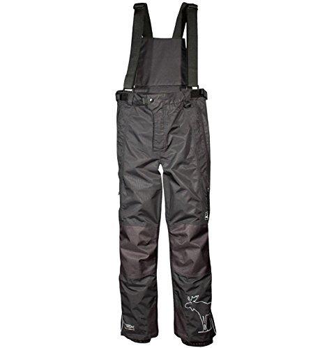 Deproc appuntite Bergen Kids pantaloni da sci, Bambini, nero, 134/140
