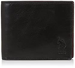 US Polo Association Black Mens Wallet (USAW0566)