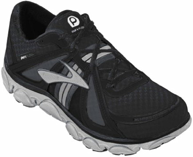 Brooks Pure Flujo Un zapatillas de correr adultos Unisex - Negro, EU 29,5