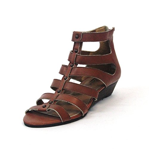 Lucky Brand open toe gladiator Sandalen, Größe 98, UPE: 3,5 Braun