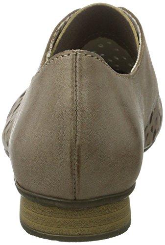 Rieker Damen 51926 Derby Braun (loam/silber / 25)