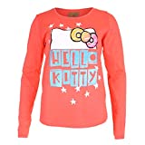 Hello Kitty Damen Langarmshirt Bows & Stars, Rot (Coral COR), 38 (Herstellergröße: Medium)
