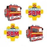Amscan 9902190Feuerwehrmann Sam Radierer