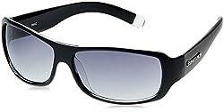 Fastrack Wrap Sunglasses (Black) (P089BK1)