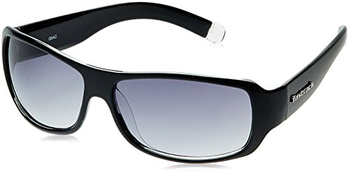 Fastrack UV Protection Wrap Men's Sunglasses (P089BK1|61|Multi-Color)