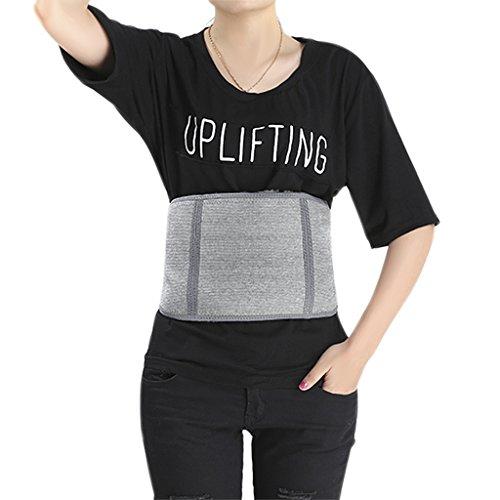 Afinder Damen Herren Rückenwärmer elastisch Nierenwärmer Wolle Kaschmir Nierengurt Rückenstützgürtel Verstellbare Sportbandage Rückengurt Rücken Wärmegürtel Leibwärmer Hüftwärmer