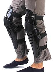 onewiller todoterreno moto Racing rodilla almohadillas guardias Protective Gear negro