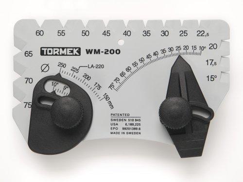 Winkel Setter für Schärfen System Tormek wm-200Winkel Master. Sets den perfekten Winkel zum Schärfen Klingen. Funktioniert auf Tormek Schärfen Systeme.