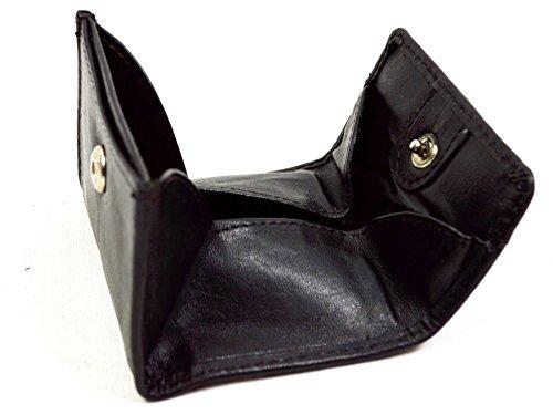 flevado Mini Börse kleine Münzbörse Wiener Schachtel mit einen Geld Kartenfach Taschen Börse mit RFID Schutz