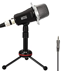 TONOR 3.5mm Aux Jack Kondensator-Mikrofon