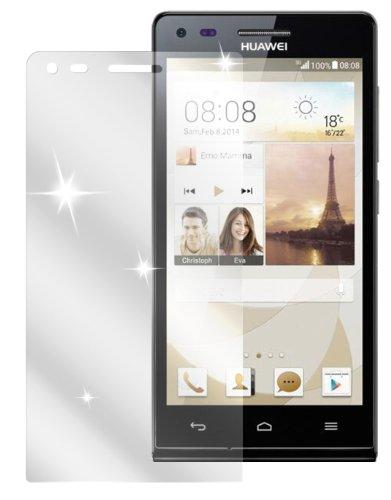 dipos I 2X Schutzfolie klar passend für Huawei Ascend P7 Mini Folie Bildschirmschutzfolie