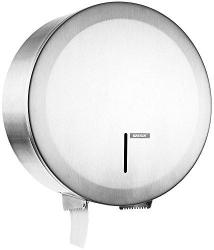 Katrin 989660 Gigantbox Toilettenpapierspender, Edelstahl, Klein