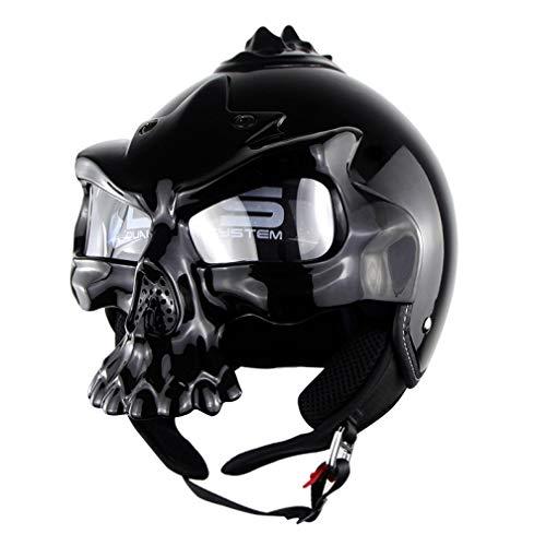 OLEEKA Schädel Motocross Helme Heißer Verkauf Persönlichkeit Schädel Maske Helm Motorrad Reifen Half/Full Face Racing Outdoor Helm