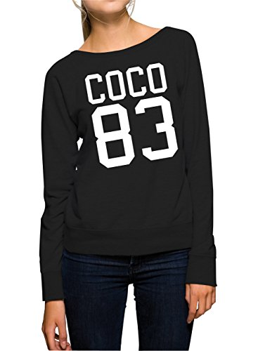 Coco 83 Sweater Girls Black-XL