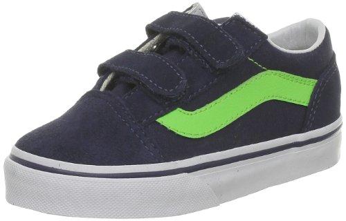 l V Sportschuhe, Dress Blues/Green Flash 6.5 UK Toddler ()