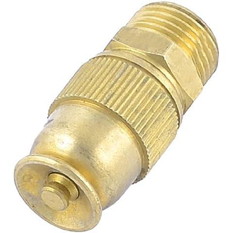Sourcingmap 20 millimetri thread dell'interfaccia regolabile spruzzo proiettile acqua ugello
