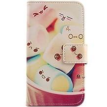 """LANKASHI PU Flip Funda De Carcasa Cuero Case Cover Piel Para Takee 1 5.5"""" FHD Octa Core Lovely Design"""