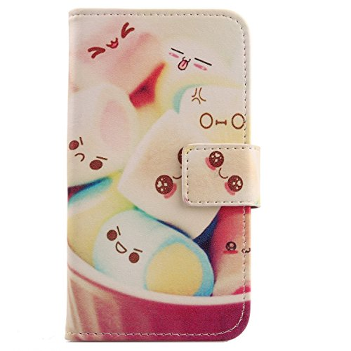 "Lankashi PU Leather Cuir Case Cover Flip Housse Etui Coque Pour SFR Startrail 6 Plus 4G 5"" Lovely Design"