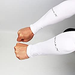 Acacia 3 Pairs Of Sports Ice Cooling Arm Sleeves UV Protection For Bike Cycling,Hiking,Climbing (White)
