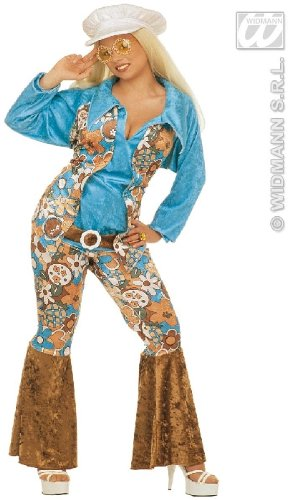 KOSTÜM - HIPPIE FRAU - Größe 52 (XXL) (Hippie Kostüme Frau)