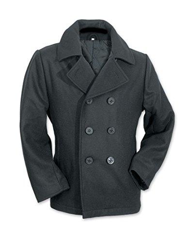 RomeoTrading US Navy Vintage Wolle PEA Coat Navy Pea Coat