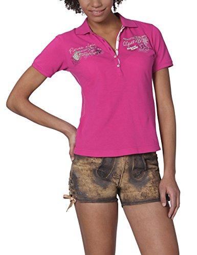 Stockerpoint Damen Poloshirt Shirt Rana, Rosa (Pink), 34