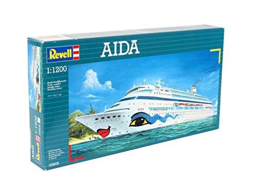 Imagen 2 de Revell 05805 - Maqueta de buque Aida (escala 1:1200)