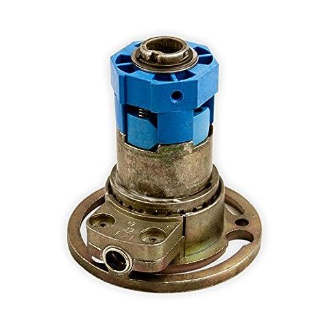 DIWARO® K009 Rolladengetriebe | Untersetzung 2:1 rechts | Antrieb 6mm Innenvierkant | Kurbelgetriebe, Kegelradgetriebe für SW 40 Rolladen Stahlwelle im Rolladenkasten
