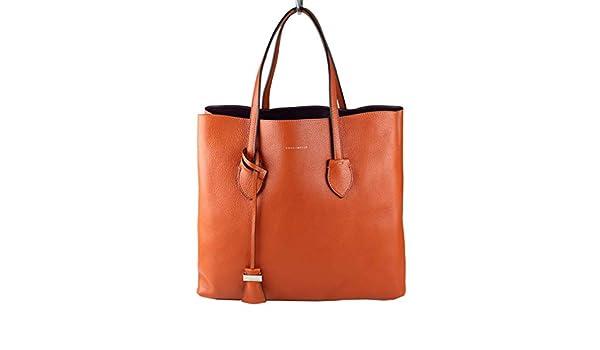 228df0320379f Coccinelle Damen Tasche Shopper CELENE Leder braun rot (calendula raisin)  E1AH5110101 933  Amazon.de  Schuhe   Handtaschen