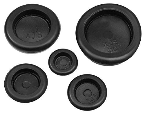 Preisvergleich Produktbild 10x KFZ Gummi Stopfen Karosseriestopfen Gummistopfen Verschlusskappe Gummitüllen (Ø27mm)
