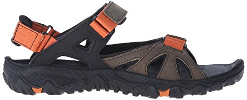Merrell All Out Blaze Sieve Convert, Sandales de Randonnée homme Multicolore (Light Brown)