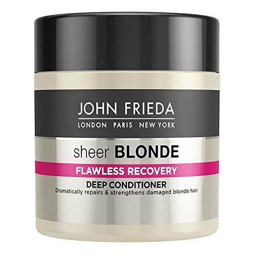 John Frieda Sheer Blonde Hola Impacto Rubio reactivación de Deep Conditioner
