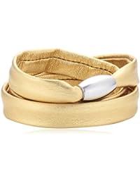 Xen Damen Armband Edelstahl Leder 51607547G1