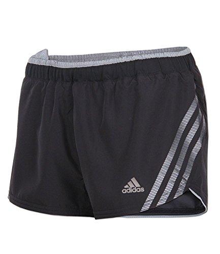 adidas Damen Supernova Climacool Laufshort Running Short (schwarz-grau, 40) -