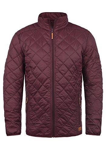 Blend Stanley Herren Steppjacke Übergangsjacke Jacke mit Stehkragen, Größe:S, Farbe:Zinfandel (73006)