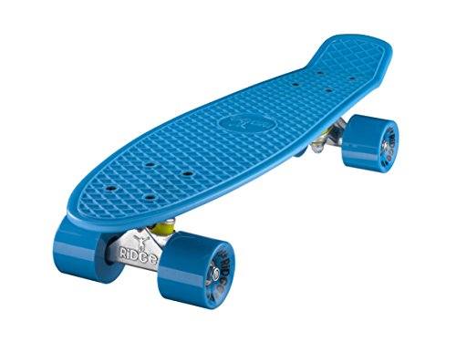 Ridge Mini Cruiser Skateboard, Blu