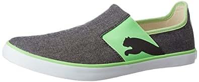 Puma Unisex Lazy Slip On II Dp Puma Black and Green Gecko Sneakers - 10 UK/India (44.5 EU) (36078512)