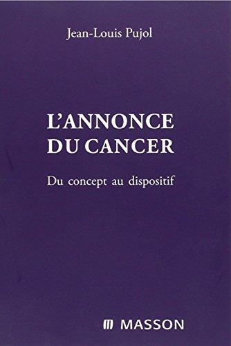 L'annonce du cancer : Du concept au dispositif
