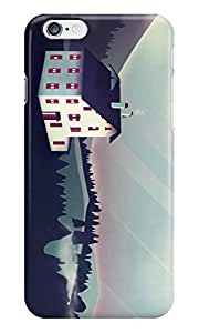 Dreambolic Castle-In-The-Mountains Back Cover For Iphone 6