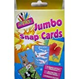 JUMBO PACK KIDS SNAP CARDS 13CM X 9CM APPROX 36 GREAT CARDS