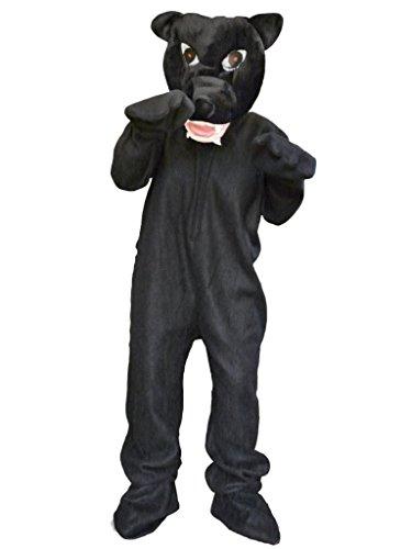 Panther-Kostüm, Zo02/00 Gr. M-XL, Panther-Faschingskostüme für Männer und -