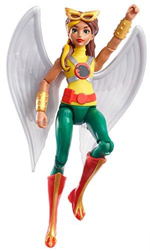 DC Super Hero Girls DVG29 - Hawkgirl - Figurine Articulée - 15 cm 0887961368673