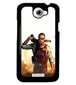 PRINTSWAG ACTION MAN Designer Back Cover Case for HTC ONE X