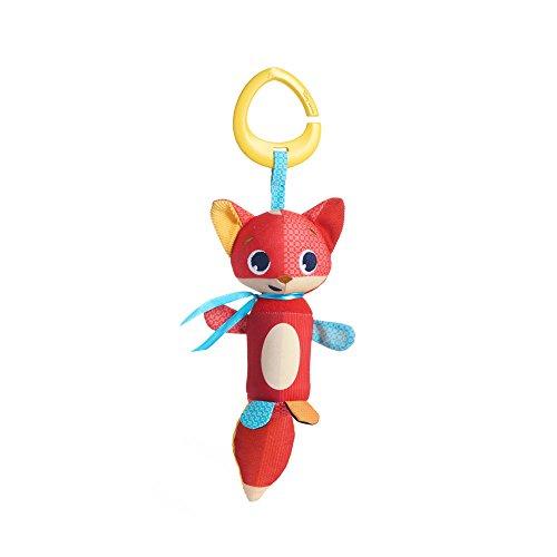 Tiny Love - Baby Spielzeug Tiny Smarts Christopher Fox, Windspiel für Babyschale, Kinderwagen und unterwegs, ab der Geburt (0M +), erzeugt schöne Windspiel-Töne, mehrfarbig