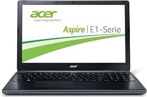 Acer Aspire E1-510-35204G50Dnkk N3520 39,6 cm (15,6 Zoll) Notebook (Intel Pentium N3520, 2,42 Ghz, 4GB RAM, 500GB HDD, Intel HD Graphics, Win 8) schwarz