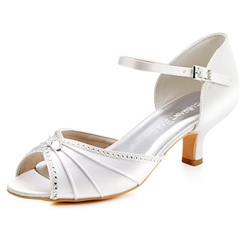 New Ladies Ivory / White Summer Sandals Women's UK 8 EU 41