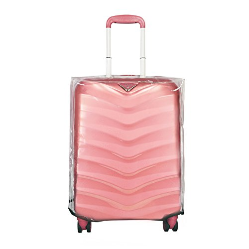 ABISTAB Verage PVC Kofferchutzhülle Transporthülle Kofferbezug, transparent, wasserdicht (M- 22