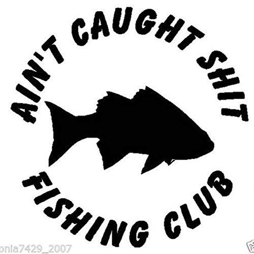 yaoxingfu Angeln Aufkleber Auto Fisch Logo Aufkleber Angeln Haken Tackle Shop Poster Vinyl Wandtattoos Hunter Bass Parede Decor Wandaufkleber Karte Farbe 116x116cm Bass Camouflage Cap