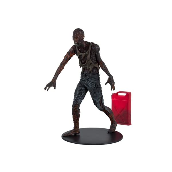 McFarlane Figura The Walking Dead Charred Zombie with Gas Can 1